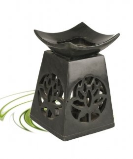 lotus soapstone oil burner