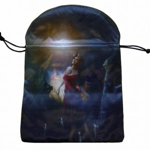 sacred dance tarot angel card bag