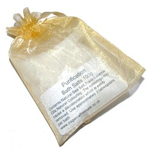 Bath salts purification