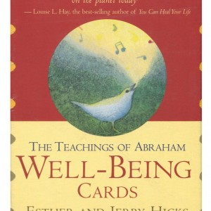 well being oracle card teachings of abraham