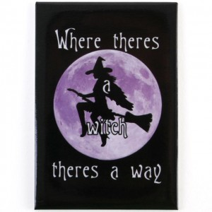 where theres a witch fridge magnet