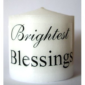 candle brightest blessing
