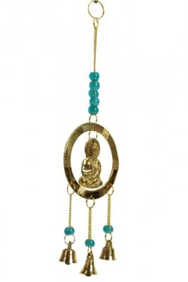 brass buddha windbell