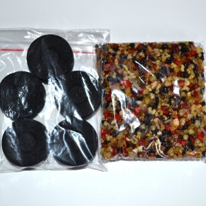 concentration incense resin