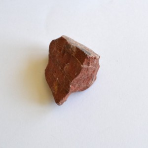 natural rough red jasper
