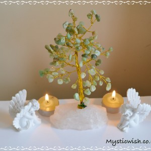 tree green aventurine