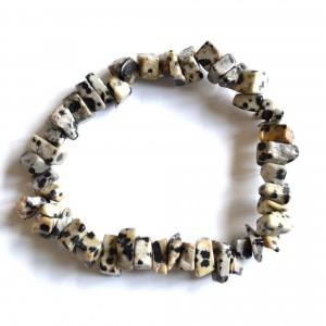 dalmatian Jasper crystal bracelet