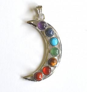 moon chakra pendant