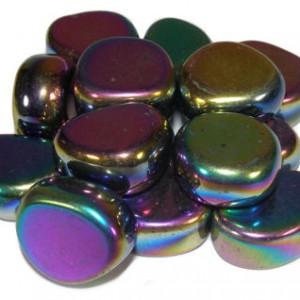 rainbow hematite crystal