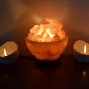 salt lamp bowl