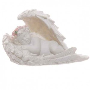 angel wings sleeping cherub