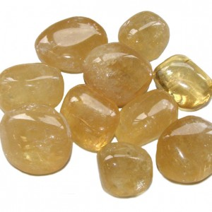 sleep with yellow calcite