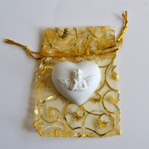 worry stone angel