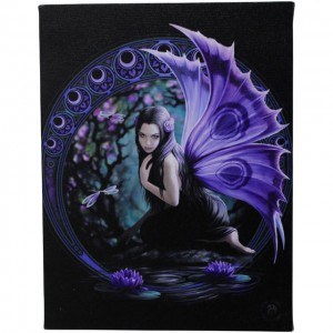 canvas by Anne Stokes Niaid