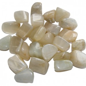 crystal healing for fertility cream moon stone