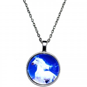 unicorn magical necklace