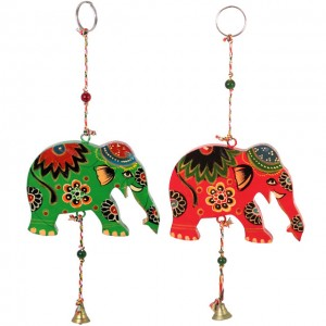 elephant wind bell