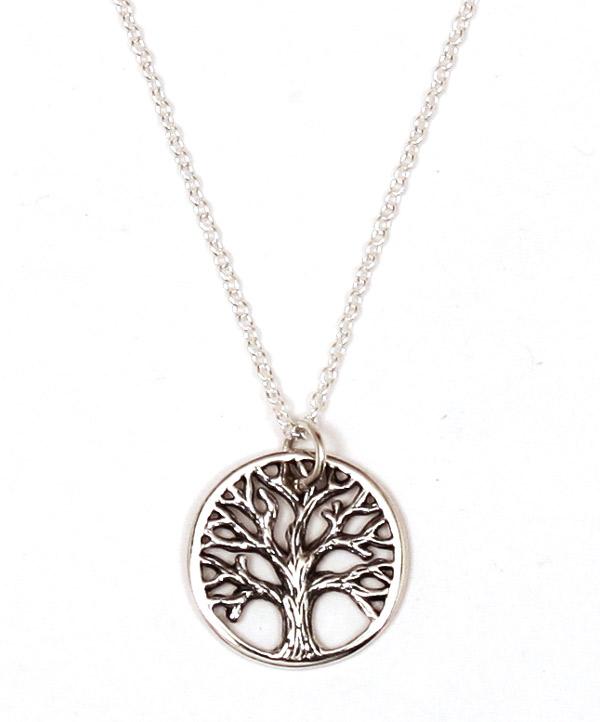 Tree of life pendant necklace mystic wish tree of life pendant necklace aloadofball Image collections