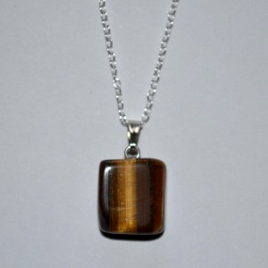 pendant tigerseye necklace
