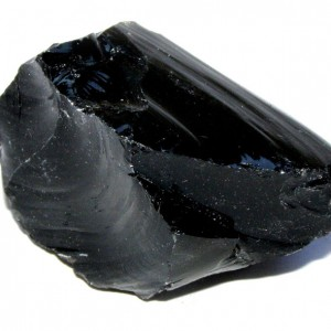 crystal natural for black obsidian