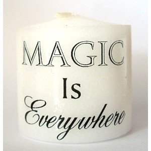 everywhere is magic candle
