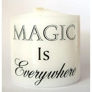 everywhere is magic candle