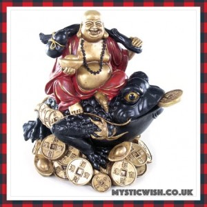 toad buddha wealth