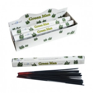 stamford incense sticks green man