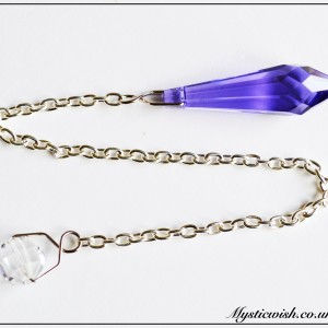 pendulum purple crystal