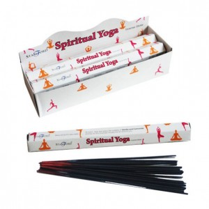 Sticks of incense spiritual yoga
