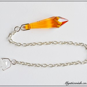 pendulum yellow crystal