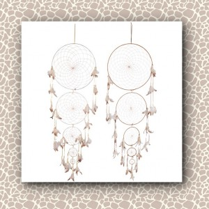 dream catcher large cream