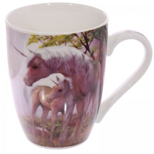 cup pink unicorn