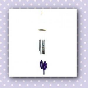 windchime purple agate
