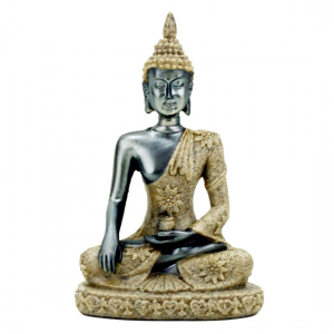 buddha silver and gold