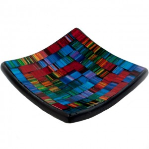 Candle plate spectrum mosaic