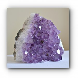 Amethyst grade A cut base
