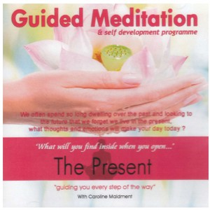 The present guided meditation cd