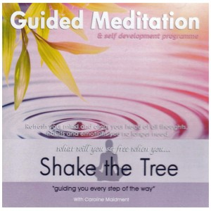 Cd guided meditation shake the tree