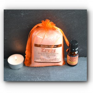 Lovely warming bath potion