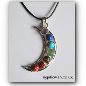 Moon chakra necklace