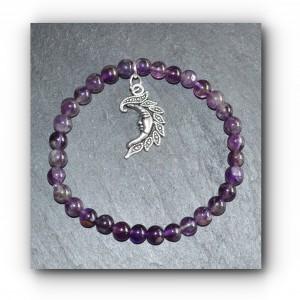 Bracelet moon amethyst