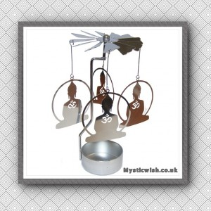 tealight spinner buddha