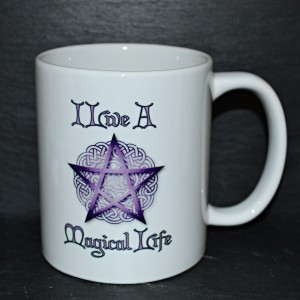 Cup i live a magical life pentacle