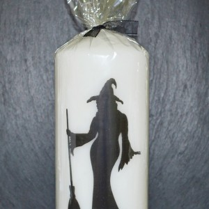 Candle large witch