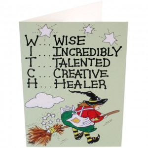 Goth wiccan birthday card mystic wish m4hsunfo