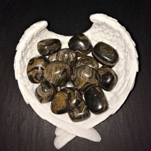 crystal stramatolite tumblestone