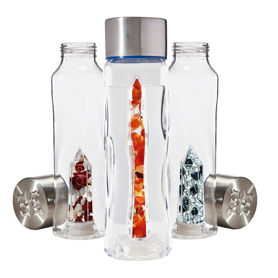 crystal infused water bottle power collection mystic wish. Black Bedroom Furniture Sets. Home Design Ideas